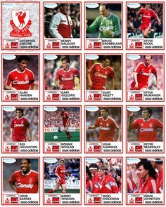 Liverpool FC 1987/88 #LFC love that old badge