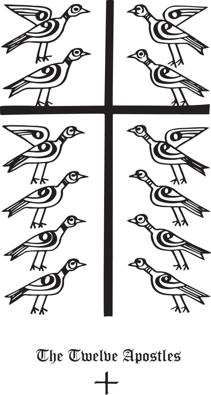 105 best christian symbols images on pinterest christian symbols rudolf koch christian symbol 143 the twelve apostles biocorpaavc