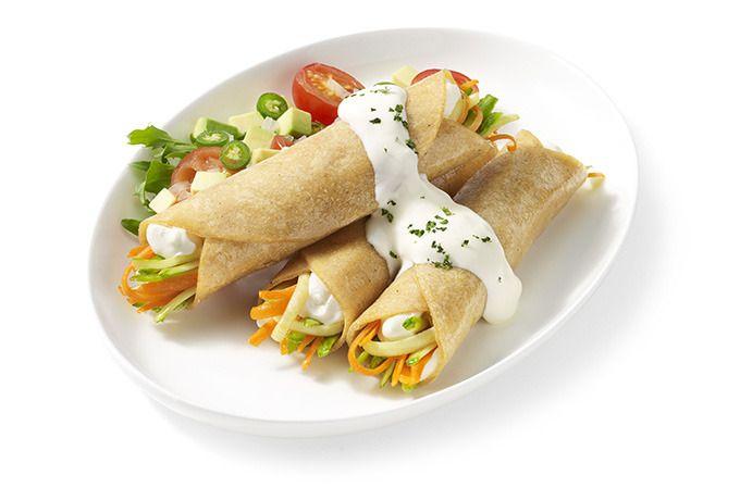 Tacos vegetarianos. #Comida #Saludable
