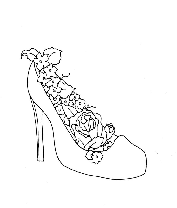High Heels And Flowers