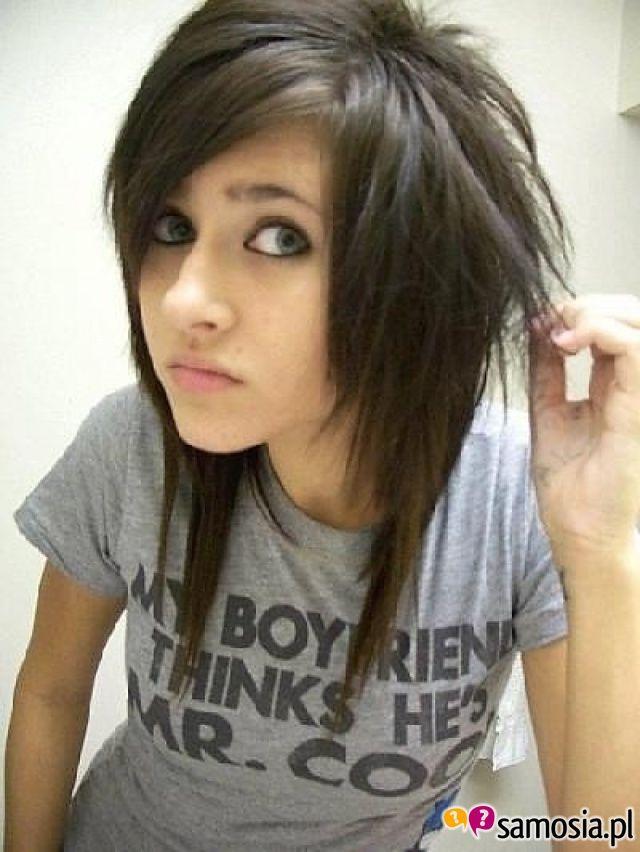 "Miss my ""emo"" haircut.."
