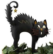 black cat decorations google search