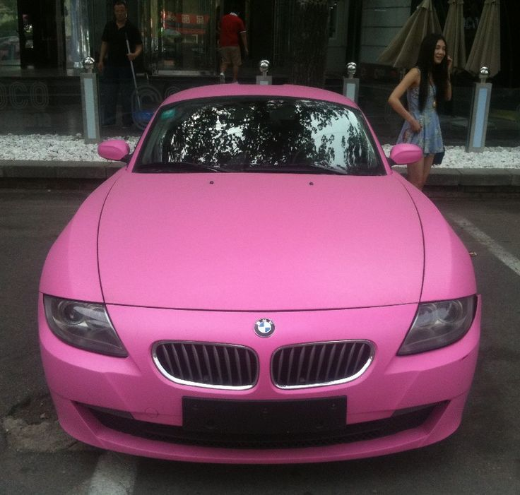 Nice baby pink beemer bmw want!