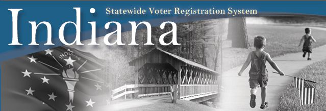Indiana Voters....check out all your voting information here. There are links to just about everything including verifying your voter registration info, elected officials, their duties, etc.