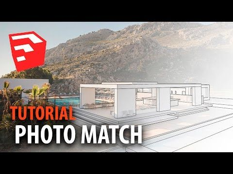 Curso SketchUp y VRay 01: Photo Match