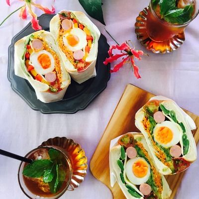 人参マリネとゆで卵のサンド by coletteさん   レシピブログ - 料理 ...