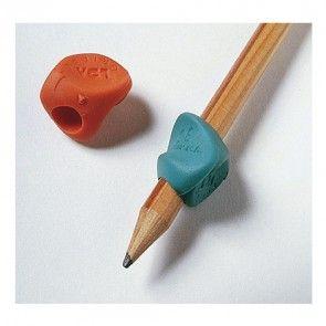 Set di aiuto alla scrittura di diverse tipologie per facilitare la presa della matita e della penna e correggere la posizione delle dita del bambino.