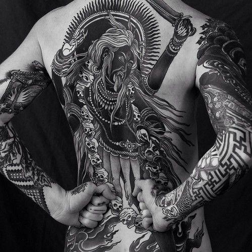 Goddess Spine Tattoo: I Publishing This Photo With