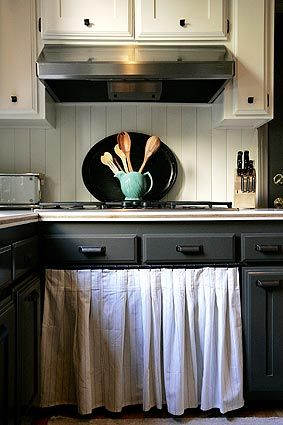 Inspirational Curtains for Kitchen Cabinet Doors