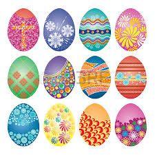Resultado de imagen de imagenes de huevos de pascua decorados