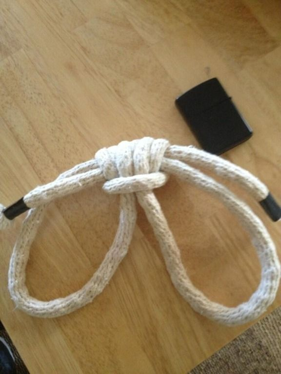 Boatswains Handcuffs - How To Tie These Self Securing -4412