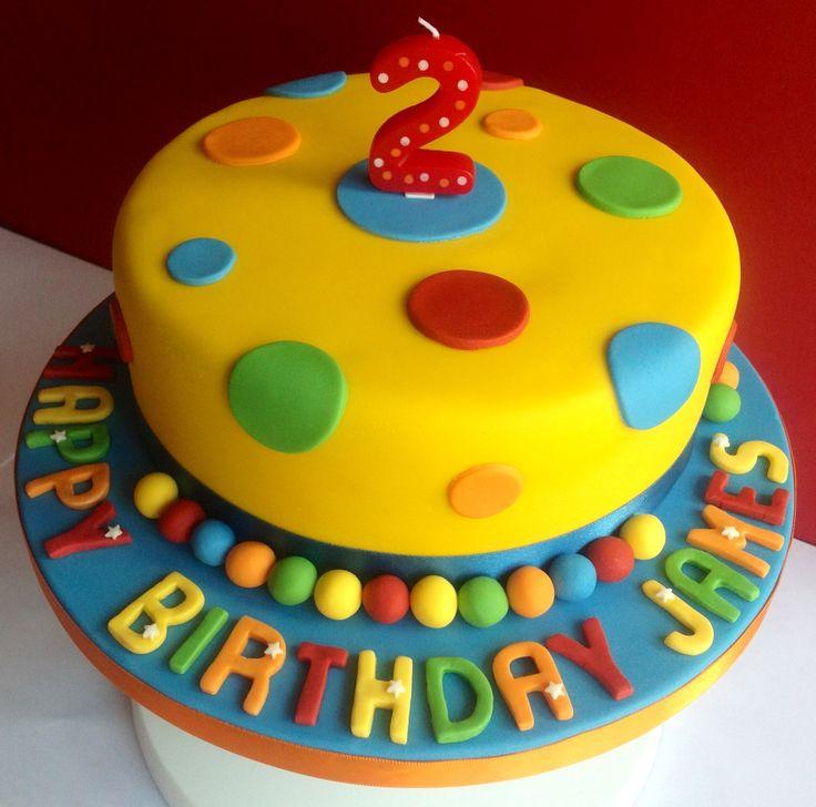 Mr Tumble inspired cake
