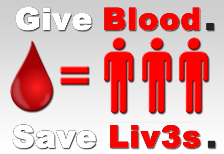 saving lives with blood donations Blood is made up of four main components red blood cells, platelets, plasma and white blood cells each whole blood donation has the potential to save up to three lives.