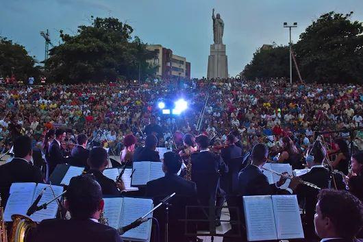 El parque Sagrado Corazón es el sitio ideal para una cita con la #música.