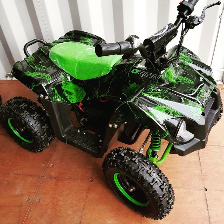 1000w Kids Electric Mini Quad Bike - Orion Lightning Green
