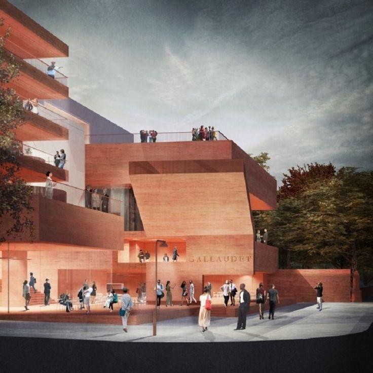 Проект, который призван облегчить жизнь глухих или слабослышащих людей в городской среде. http://faqindecor.com/ru/news/v-strane-gluhih-proekt-dlya-gallodetskogo-universiteta-v-vashingtone/