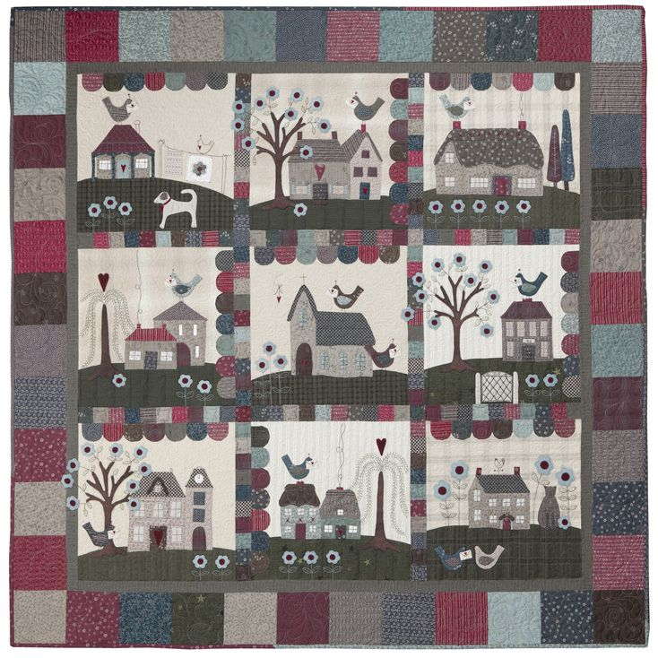 Beautiful little Lyn Anderson quilt