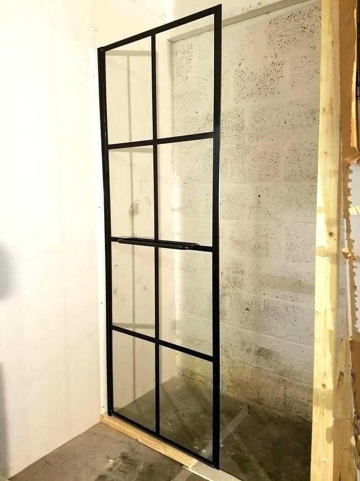 Black Grid Shower Door Work In Progress But Will Be A Superb Bespoke Enclosure With Canada Su Shower Doors Grid Shower Door Grid Shower