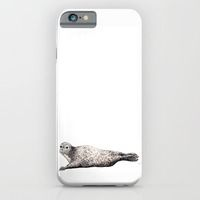 iPhone & iPod Case featuring Harbour Seal by Chloe Yzoard