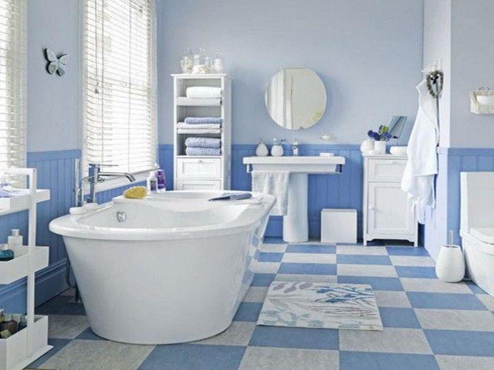 Best White And Blue Interior Decorating Design Ideas