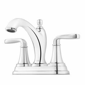 Pfister Northcott Polished Chrome 2-Handle 4-In Centerset Bathroom Sink Faucet Lg48-Mg0c