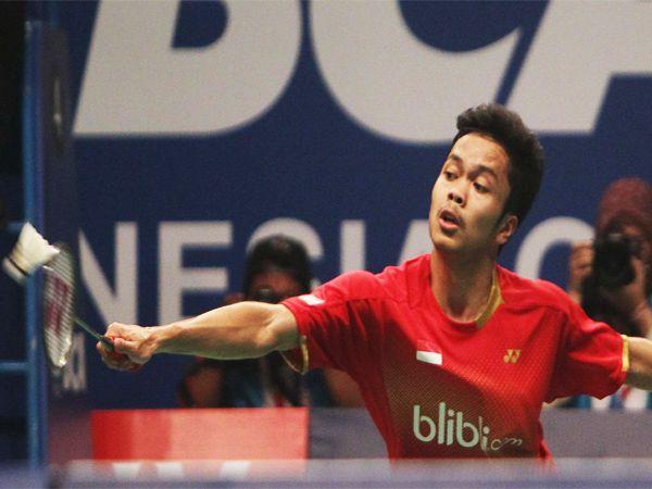 Ligaolahraga.com - Pembulutangkis muda Indonesia, Anthony Sinisuka Ginting di percaya untuk mewakili Indonesia tapim di ajang bulu tangkis Pada babak utama Hong Kong Terbuka 2015.ketiganya merupakan pemain tunggal putra