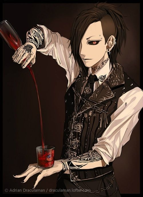 Uta from Tokyo Ghoul by Adrian Draculaman Haven't watched Tokyo Ghoul, but wow! Love this character design!: