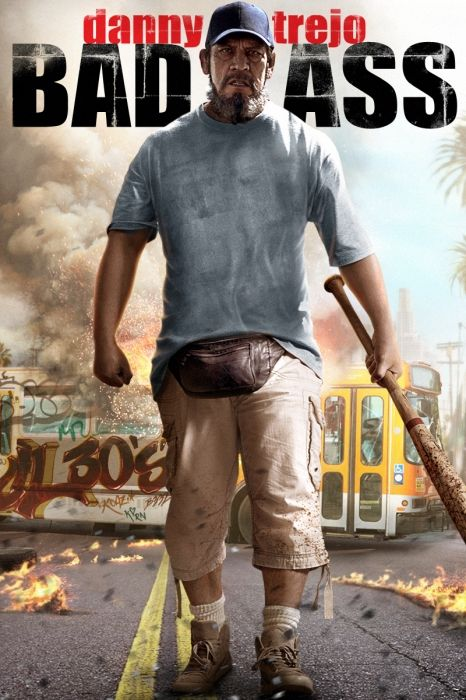 Bad Ass Movie Poster - Danny Trejo, Charles S. Dutton, Ron Perlman  #BadAss, #MoviePoster, #ActionAdventure, #CraigMoss, #CharlesS, #Dutton, #DannyTrejo, #RonPerlman