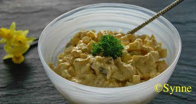 En slik påleggssalat er veldig anvendelig, ikke bare er den nydelig på smak, den kan lages mager med gresk yoghurt eller med rømme elle...