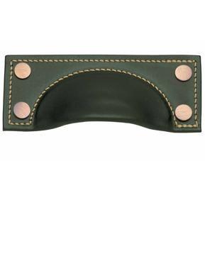 Leather cup handles, Leather cupboard pulls & handles, Cupboard knobs & handles, Door furniture & ironmongery, Holloways of Ludlow