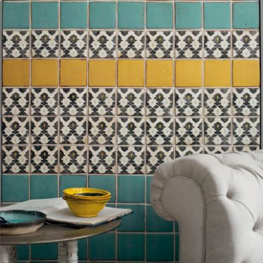Targa - Glazed & Decorated - Shop by tile type - Wall & Floor Tiles | Fired Earth