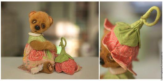 Teddy Bears handmade. teddy bear chloe, designer toy, plush. Aleksandra Kulikova (li#teddy #bear #teddybear #handmade #artdoll #ooakteddy #toy #bunny #teddybunny #rabbit #teddyrabbit #motherdaysteningdwarfs). My Livemaster.Soft toy