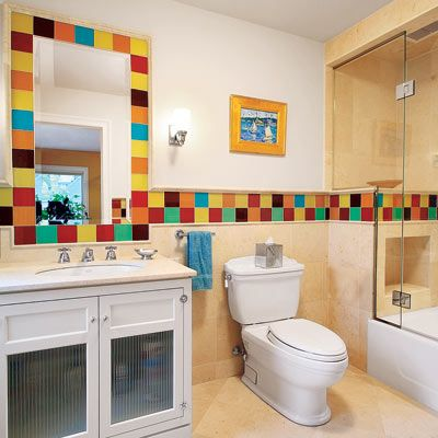 Photo: Olson Photographic | thisoldhouse.com | from Editors' Picks: Our Favorite Colorful Bathrooms