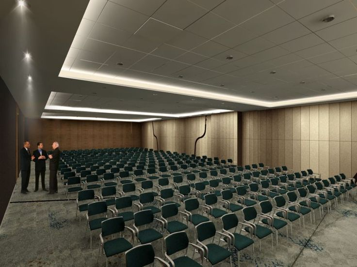 Due to the system of movable walls its possible to combine all rooms into one to organize a big event or #conference.