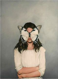 MUTE BUTTERFLY by Amy Judd Art