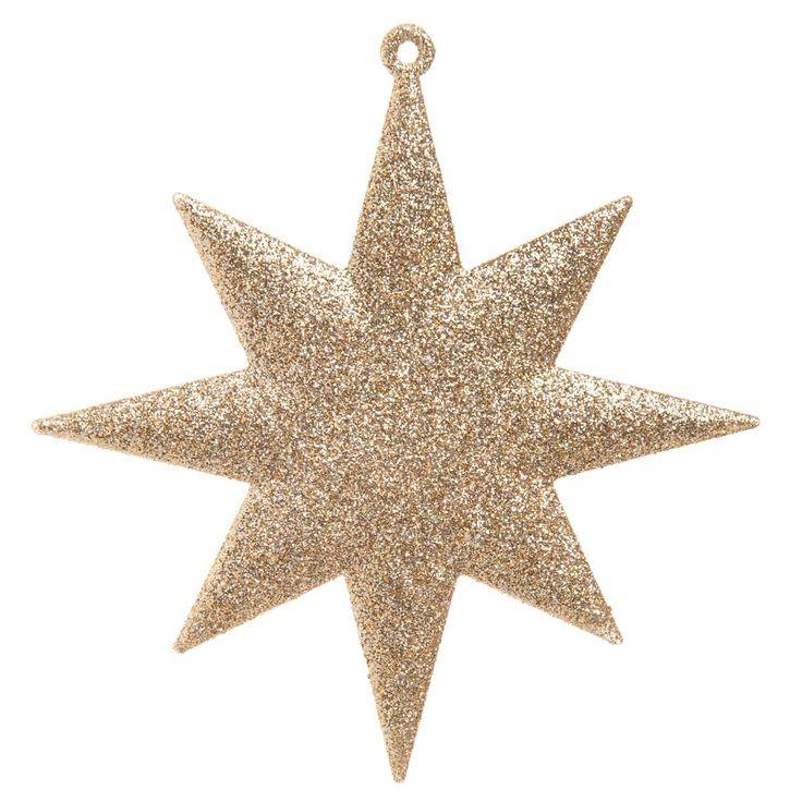 Estrella lucero del alba para árbol de navidad   - Vendido por 12