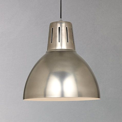 Buy John Lewis Hampton Pendant Online at johnlewis.com Over-dining table light? £110 from JL.