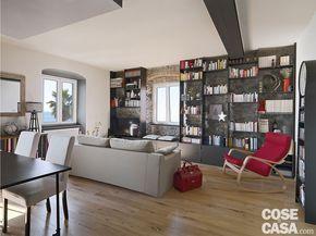 68 best soggiorno images on pinterest | ad hoc, interior and open ... - Soluzioni Per Dividere Cucina Soggiorno
