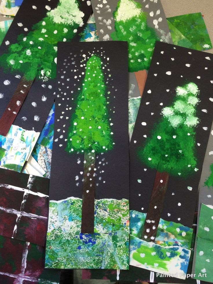 Want to create a winter project that adds a touch of the beauty of nature? Try this adorable painting project that creates beautiful Alpine trees with snow.   STEP 1 First, choose a piece of pre…