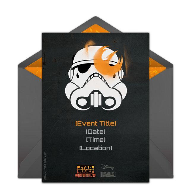 Free Stormtrooper Invitations In 2019