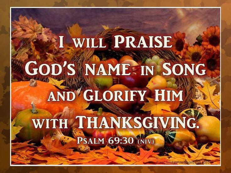 Thanksgiving - Free Christian Thanksgiving Powerpoint Slide Backgrounds