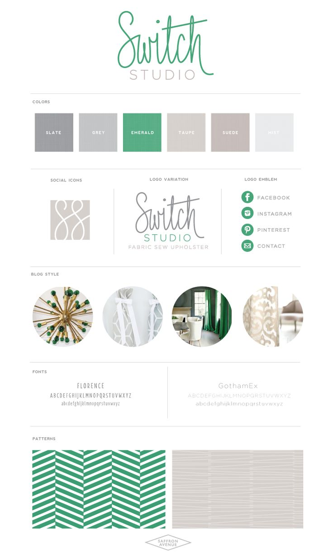 Switch Studio :: Fabric Sew Upholster - Saffron Avenue