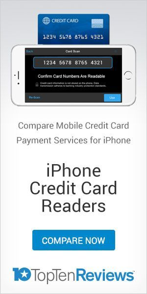 Square is a popular mobile credit card processor that offers EMV-compliant iPhone card readers and simple flat-rate pricing. Read our review to learn more.