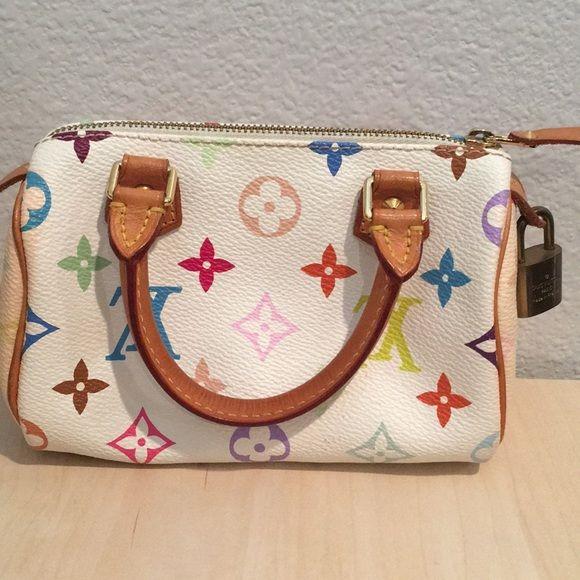 30d2d581216b Shop Women s Louis Vuitton White size OS Mini Bags at a discounted price at  Poshmark.