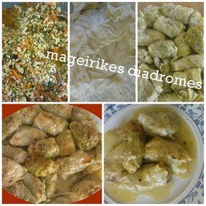 Λαχανοντολμάδες φούρνου