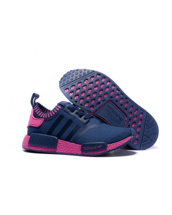 Discover the Discount Adidas Nmd Runner Women Blue Red Shoes collection at  Footseek. Shop Discount Adidas Nmd Runner Women Blue Red Shoes black, grey,  ...