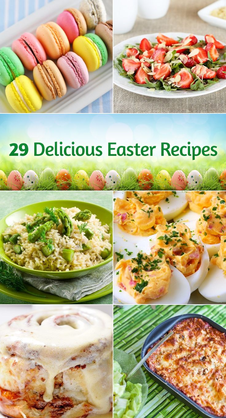 29 Delicious Easter Recipes