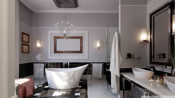 Stylish Design Bathroom  is a fantastic HD wallpaper for your PC or Mac and is available in high definition resolutions.
