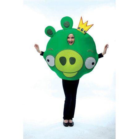 Angry Birds King Pig Child Halloween Costume, Toddler Unisex, Multicolor