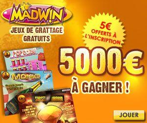 MadWin - Nouvelle section de jeux de Grattage?